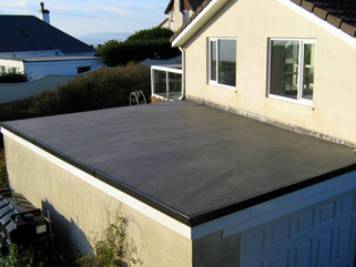 EPDM rubber based single ply membrane